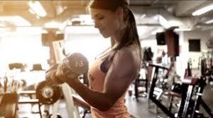 Buy Sport Traffic   Woman in Gym